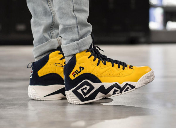 Basket Fila MB Golden Yellow (4)