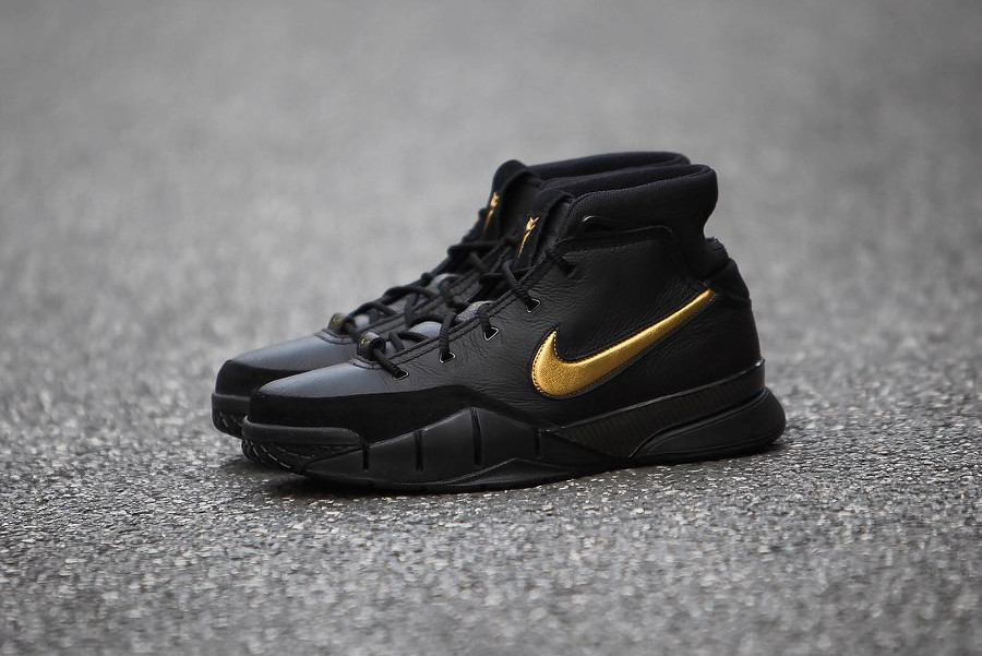 Basket Nike Kobe 1 Protro Black Gold 413 18 Mamba Day 2018 (1)