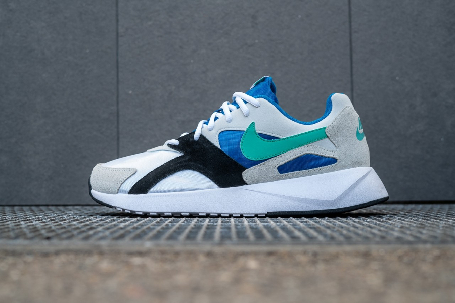 Chaussure Nike Pantheos White Kinetic Green Nebula Blue