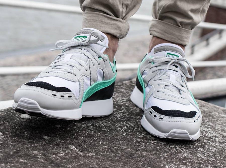 Puma RS-100 Re-Invention 'Gray Biscay Green'