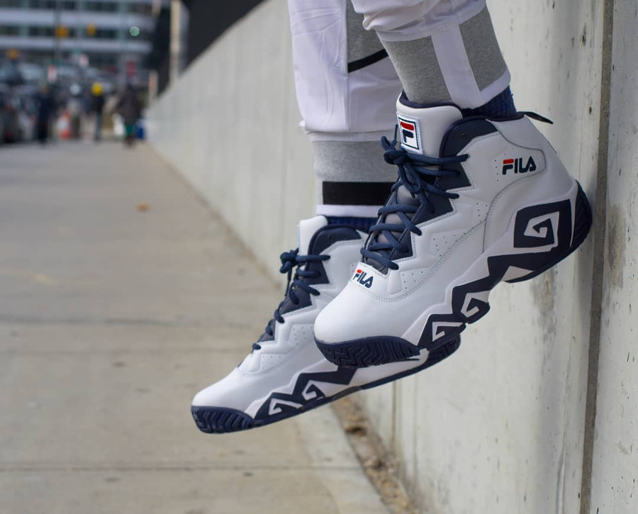 Fila MB on feet - @noahgoldowitz