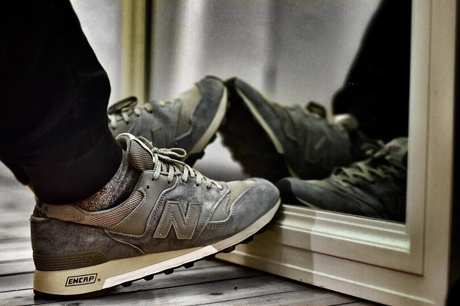 New Balance M577PBG on feet - @brasco_is_dead