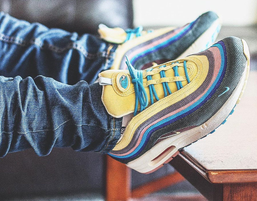 new product ac827 a99a5 Nike Air Max 1/97 Sean Wotherspoon on feet (#SDJ 03/04/2018)