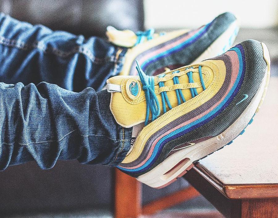 Nike Air Max 1 97 SW on feet - @kickgame77