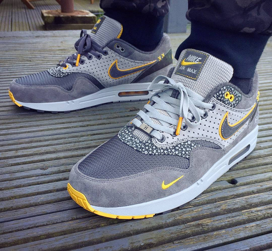Nike Air Max 1 Bespoke Grey Safari - @jameyhoward