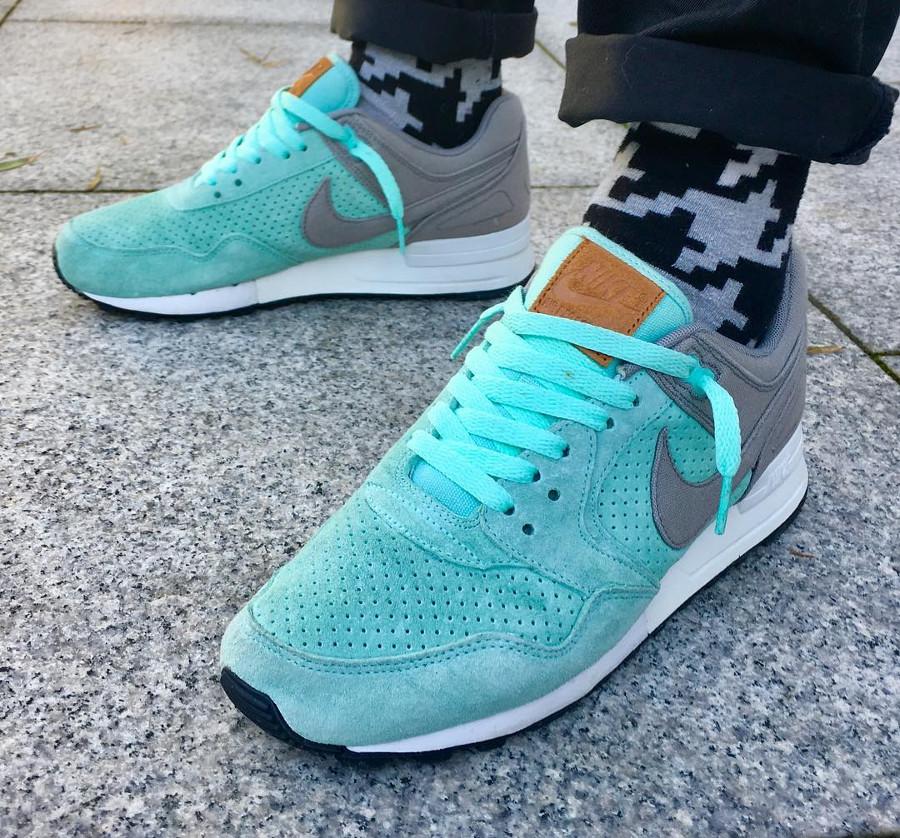 Nike Air Pegasus 89 Artisan Teal on feet - @jaebrown_dublintown