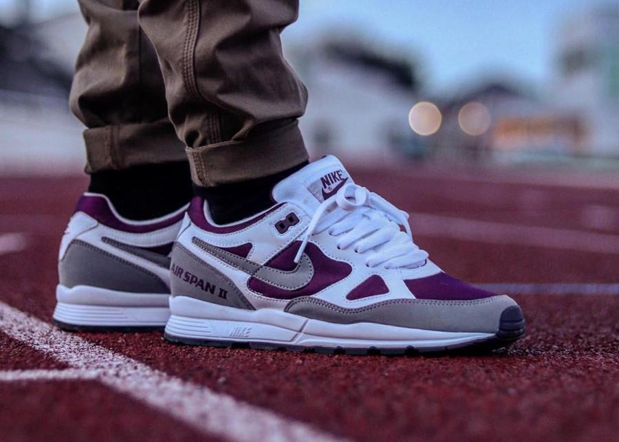 Nike Air Span II Burgundy - @warren_gvl