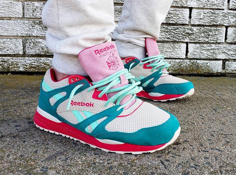 Sneaker Politics x Reebok Ventilator Pink Lake - @deeboks