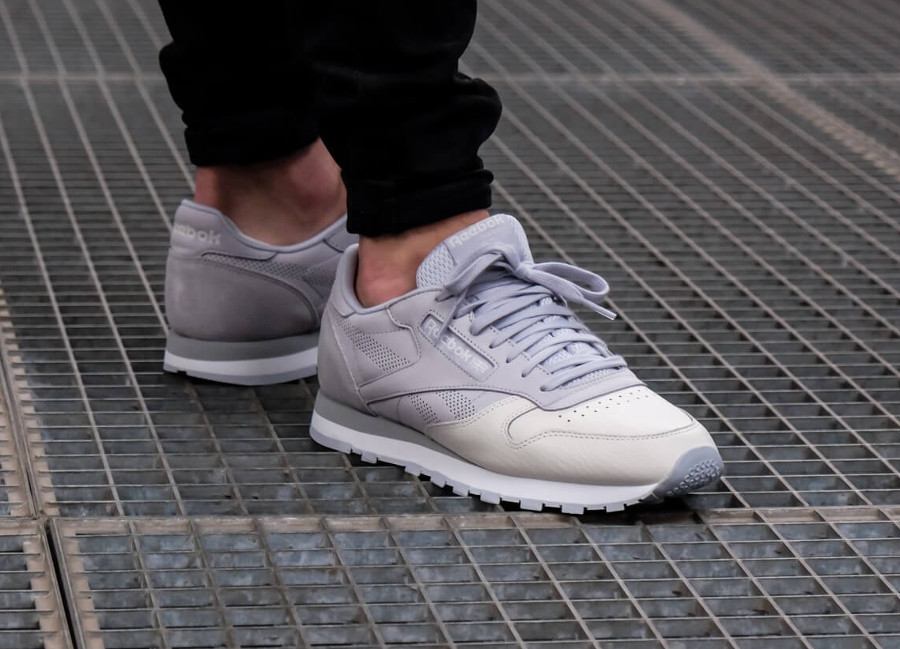 blanche feet on reebok classic leather ZPiukOX