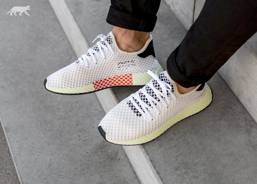 Review] Adidas Deerupt Runner Beige 'Chalk White'