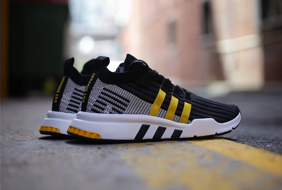 new styles 8c598 29e37 basket-adidas-equipment-support-adv-mi-montante-noire-