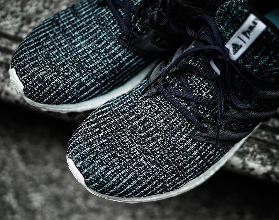 basket-adidas-ultraboost-4-0-plastique-recyclé-ocean-parley-noir-bleu-CG3673 (1)
