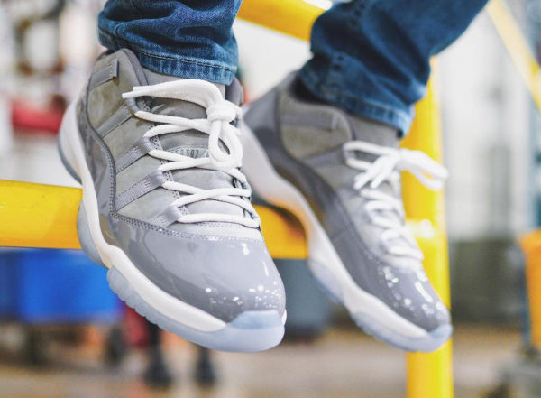 Chaussure Air Jordan 11 Retro Low Grise Cool Grey