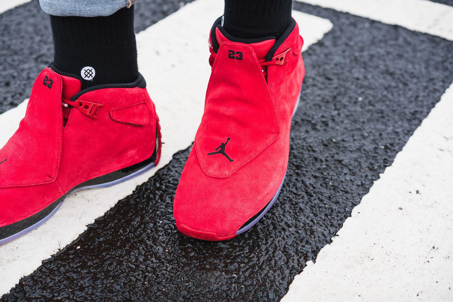 Guide des achats : Air Jordan XVIII Retro Gym Red