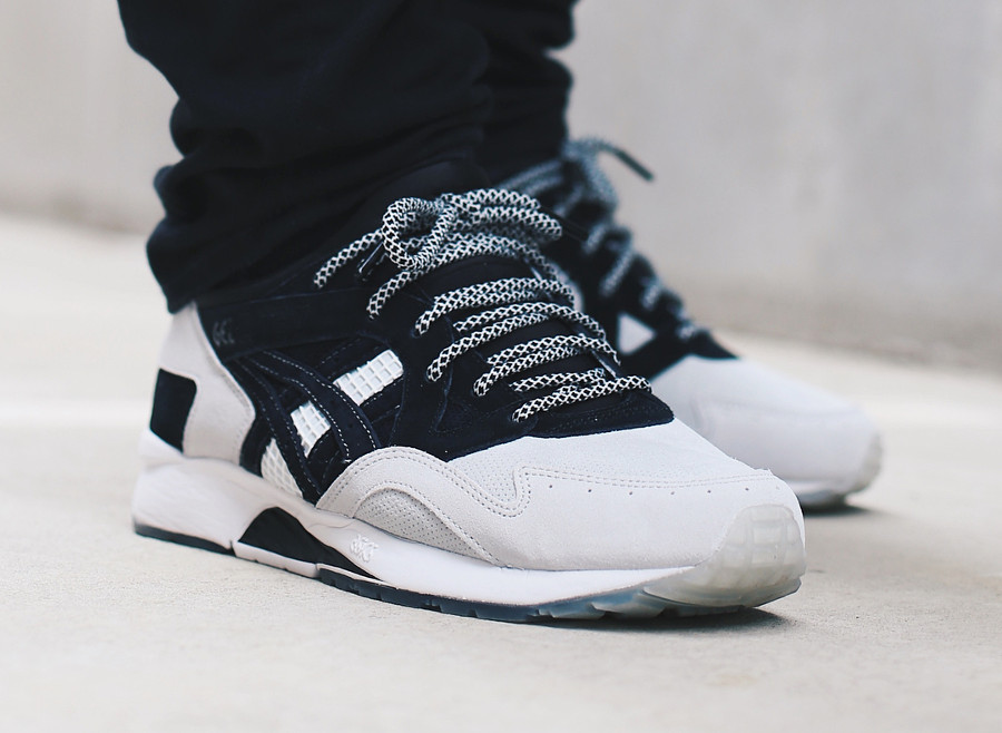 Highs and Lows x Monkey Time x Asics Gel Lyte V 'Light Grey Black'