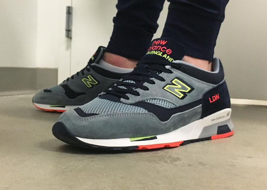 Chaussure New Balance M1500LDC LDN London Marathon on feet