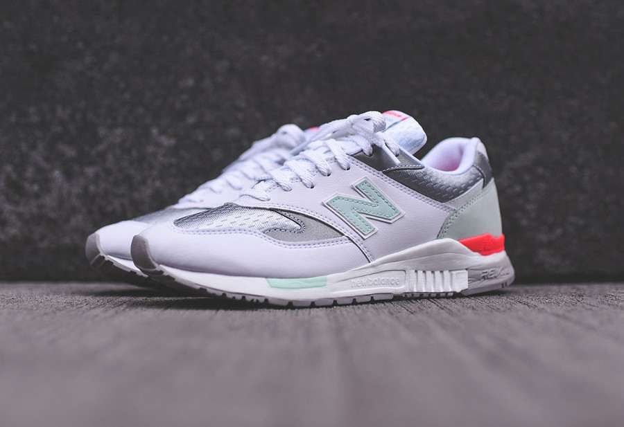 Chaussure New Balance ML840AB White Seafoam Pigment