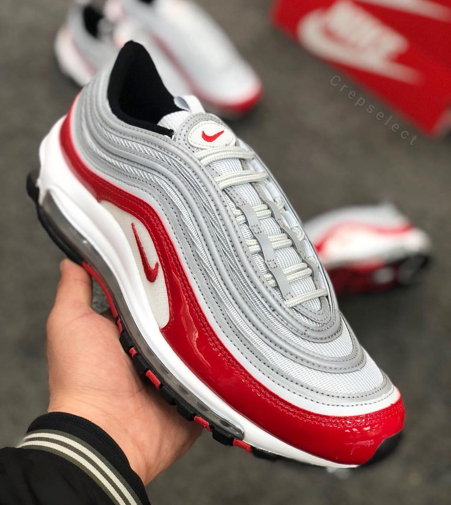 Nike Air Max 97 OG Red Patent Silver Bullet