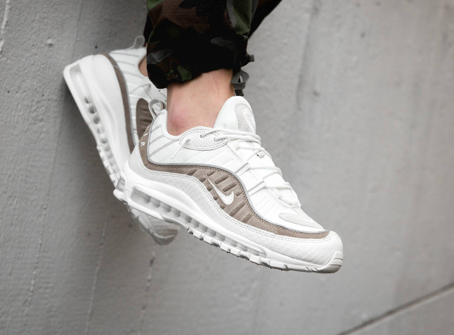 Avis] Où trouver la Nike Air Max 98 SE Sail Cream Exotic Skin ?