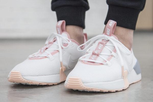 basket-nike-ashin-modern-run-fille-blanche-gris-rose-AJ8799-101 (3)