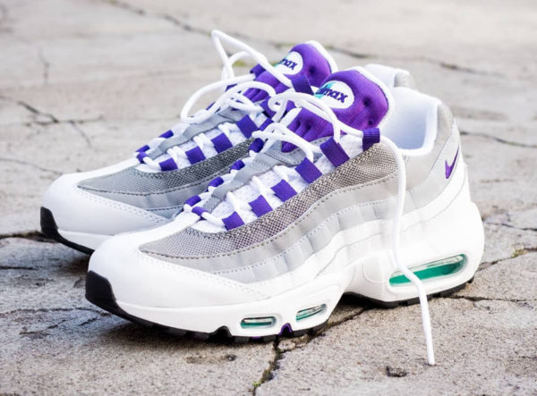 Guide des achats : Nike Wmns Air Max 95 OG Grape 2018