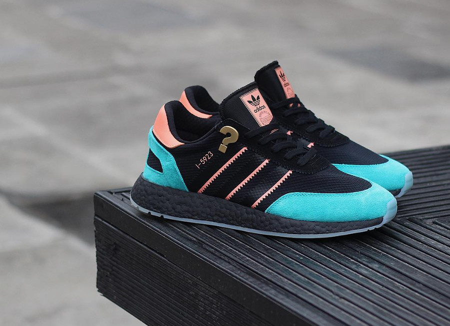 Guide des achats : Size? x Adidas I-5923 'Hawaiian Thunderstorm'