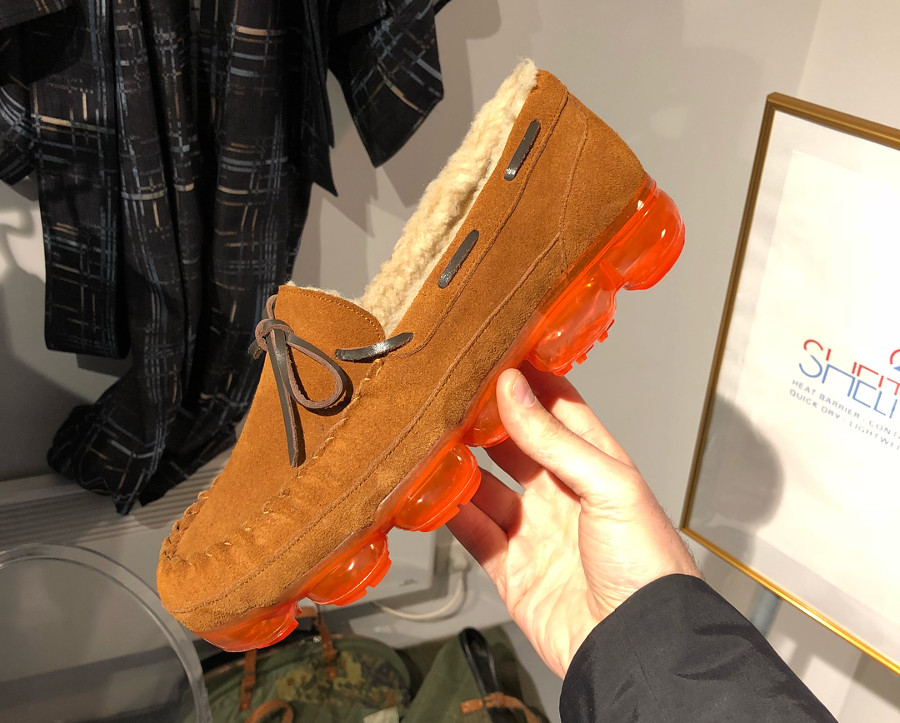 chaussure bâteau semelle Nike Air Vapormax mrsnob