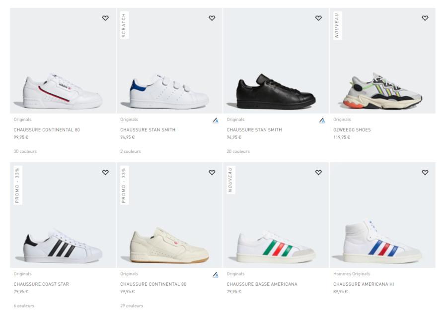 Bon Plan] Code promo Adidas special 70 ans (mai 2019)