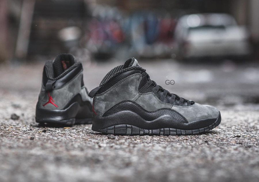 Air Jordan 10 Retro Dark Shadow 2018