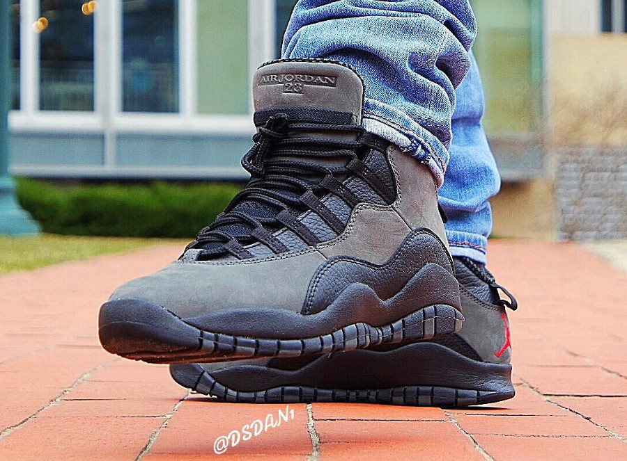 Chaussure Air Jordan 10 X Retro OG Dark Shadow 2018