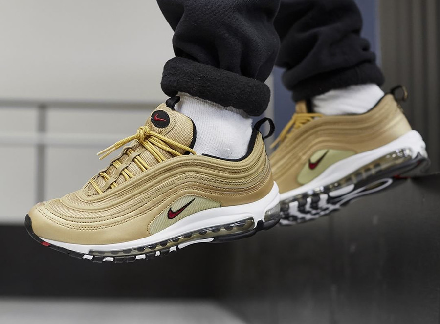 Restock] Nike Air Max 97 OG Dorée 'Metallic Gold' 2018