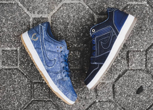 Le pack Nike SB Denim 'East vs West' (quickstrike)