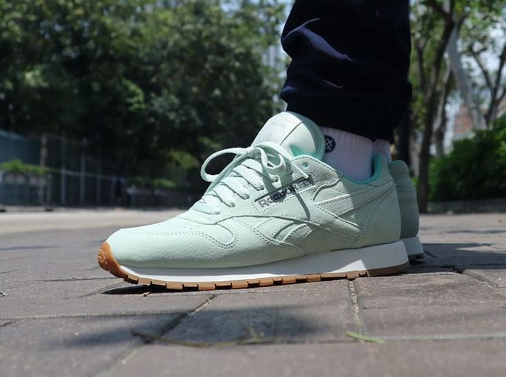Reebok Classic Leather Mint Brown Mint Brown - @alvin_rudie