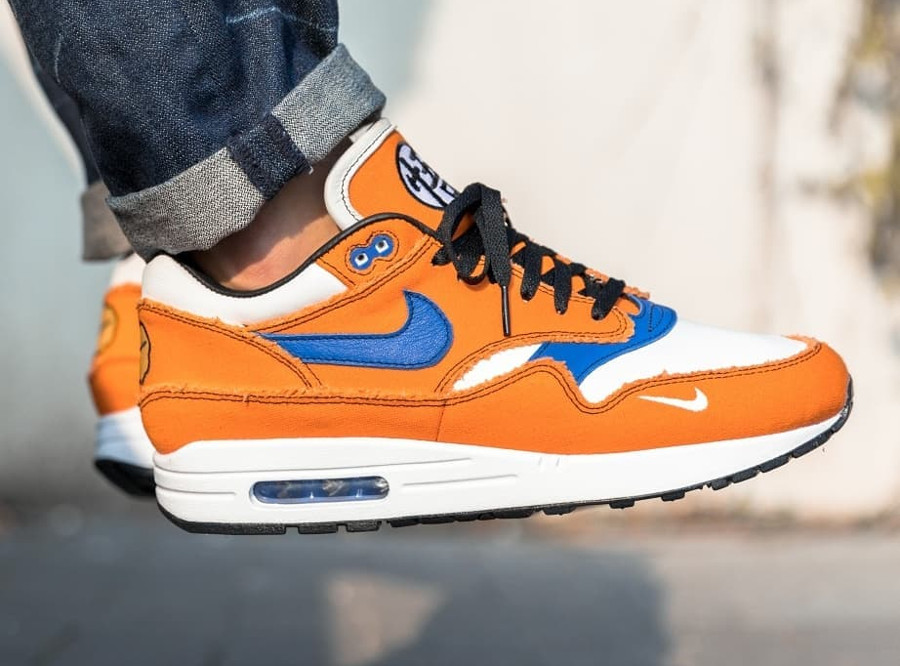 Dragon Ball Z x Nike Air Max 1 'Sangoku'