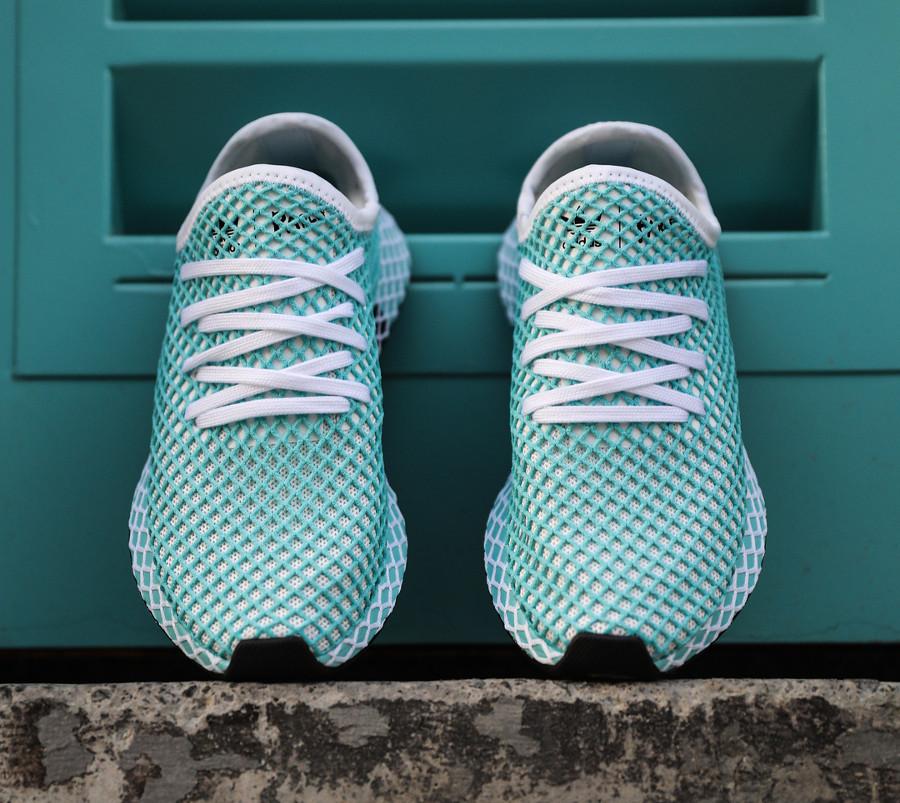basket-adidas-deerupt-runner-parley-femme-bleu-aquatique- CQ2908 (4)