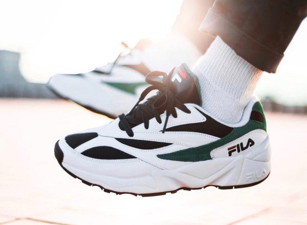 1eb2016c1f3 Review   Fila Venom Retro 2018  White Red   Shady Glade  on feet
