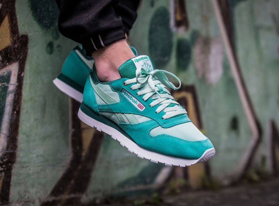 Montana Cans Color System x Reebok Classic Leather 'Malachite Light'