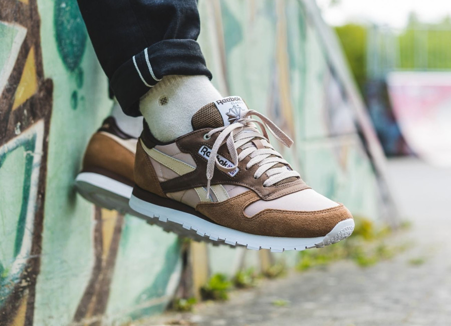 Montana Cans Color System x Reebok Classic Leather 'Cappuccino'