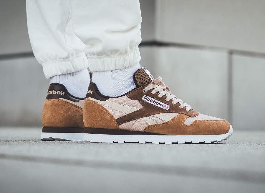 sports shoes 43590 6ca3f  cappuccino  Review Classic Mccs Montana X Cans Leather Reebok Marron  8cp8WgrzT.