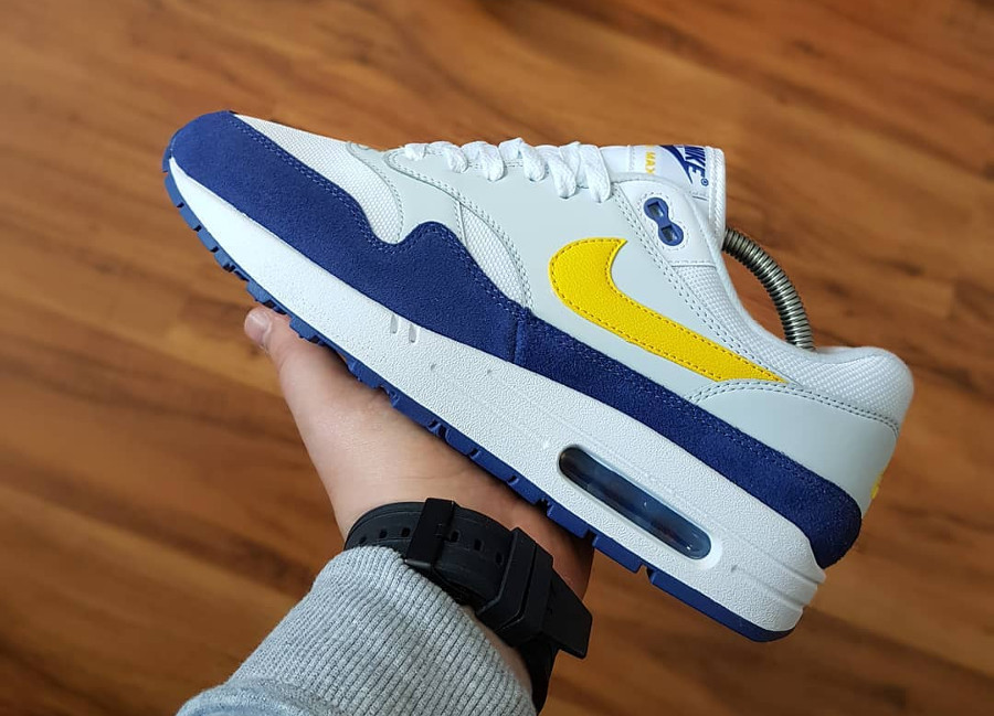 Nike Air Max 1 'Blue Recall Tour Yellow'