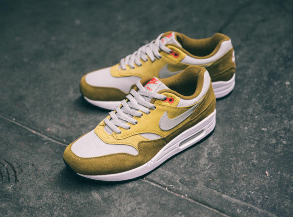 Nike Air Max 1 Premium Retro 'Green Curry' (quickstrike)
