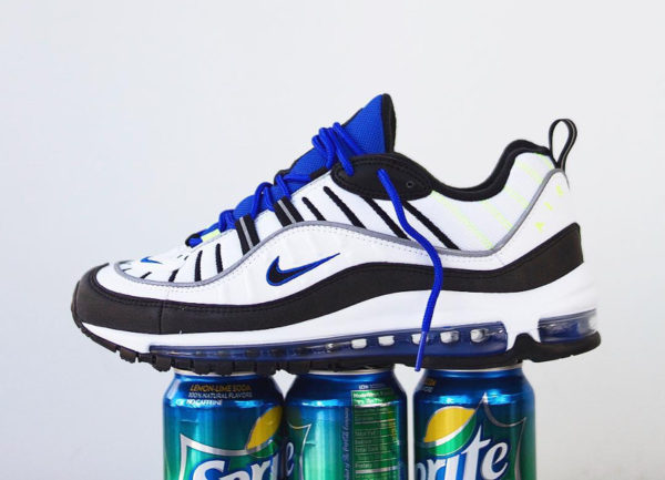 Chaussure Nike Air Max 98 Sprite Racer Blue