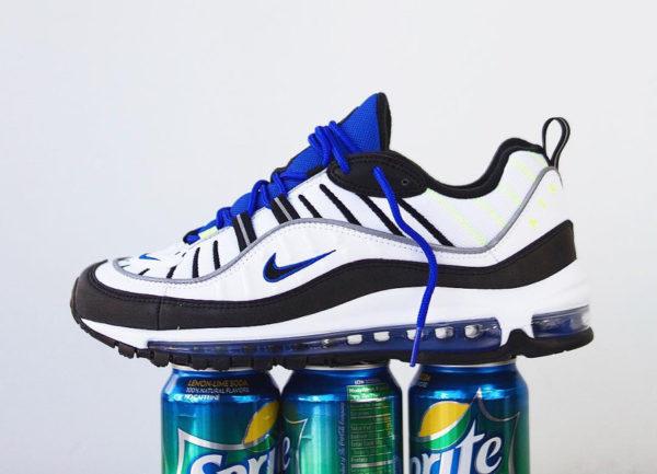 new styles 563b9 d352d Review] Où trouver la Nike Air Max 98 Sprite Racer Blue ?