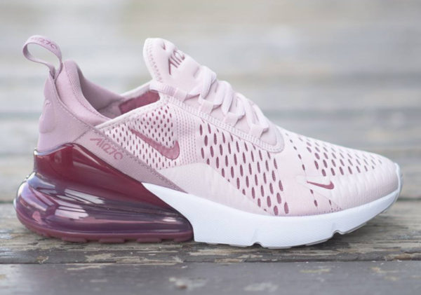 économiser 03030 d7b6d Review] Nike Air Max 270 femme Barely Rose Vintage Wine