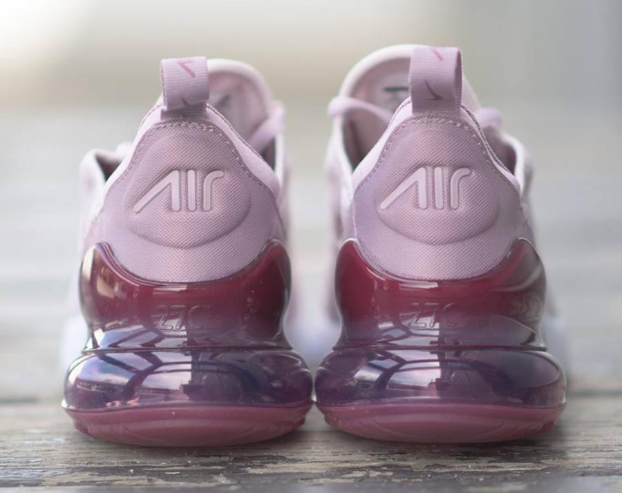 basket-nike-womens-air-max-270-rose-pâle-coussin-vin-violet-translucide (3)