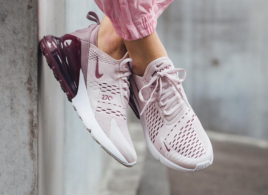 save off 8c8a0 445a4 Review] Nike Air Max 270 femme Barely Rose Vintage Wine