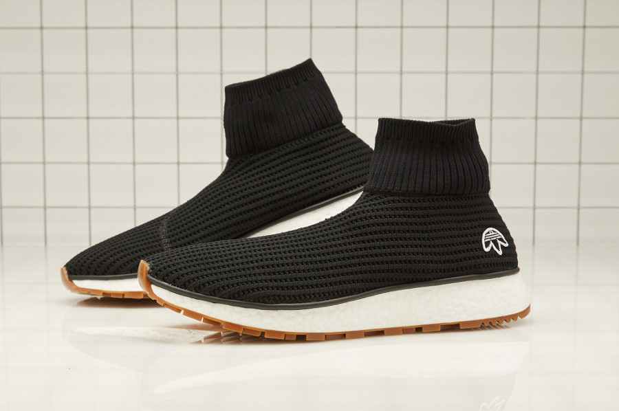 Alexander Wang x Adidas Originals Run Clean Boost 'Black Gum'