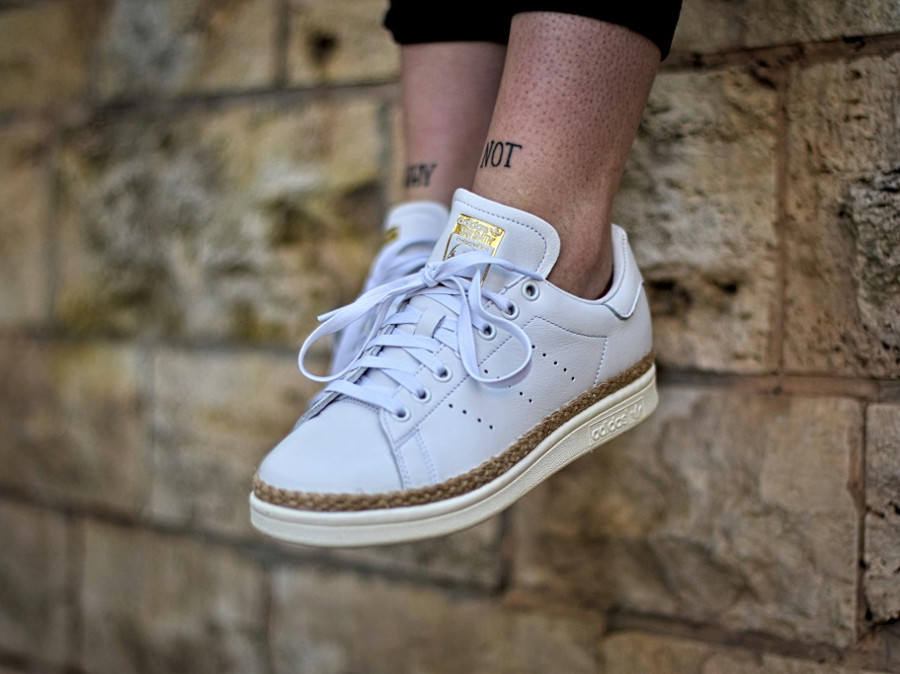 Adidas Stan Smith New Bold W 'White' (semelle avec du jute)