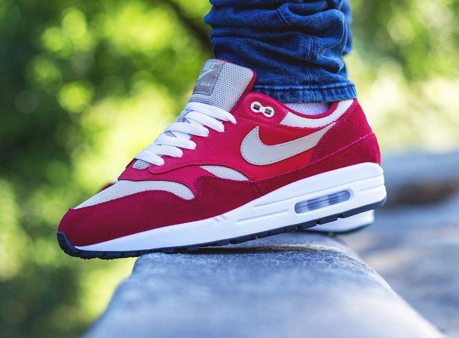 Nike Air Max 1 Premium Retro Suede 'Red Curry'