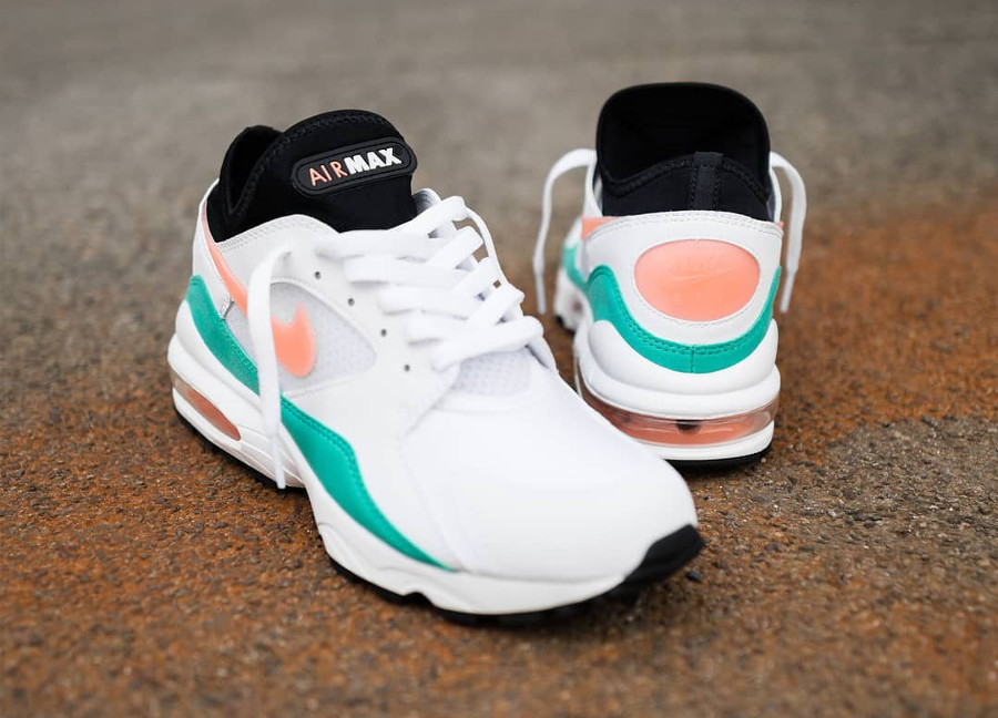 Nike Air Max 93 'Watermelon' Crimson Bliss Kinetic Green